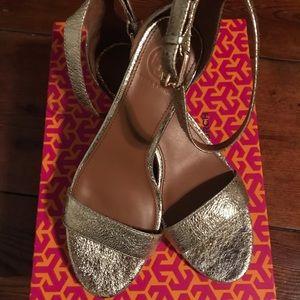 Size 6.5 Tory Burch Wedge Sandal
